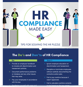 HR Compliance Made Easy Infographic