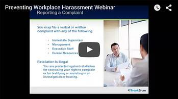 Preventing Workplace Harassment Webinar