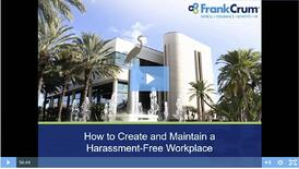 Still_How to Create and Maintain a Harassment-Free Workplace